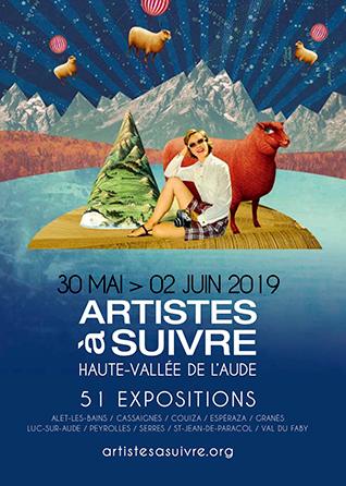 Artiste à Suivre...DU 30 MAI AU 02 JUIN 2019- 51 expositions dans 9 communes