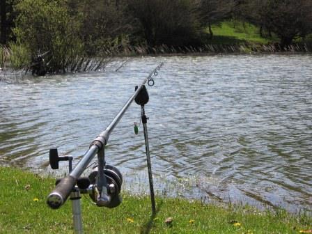 La pêche a commencé sur le domaine du Bouchard