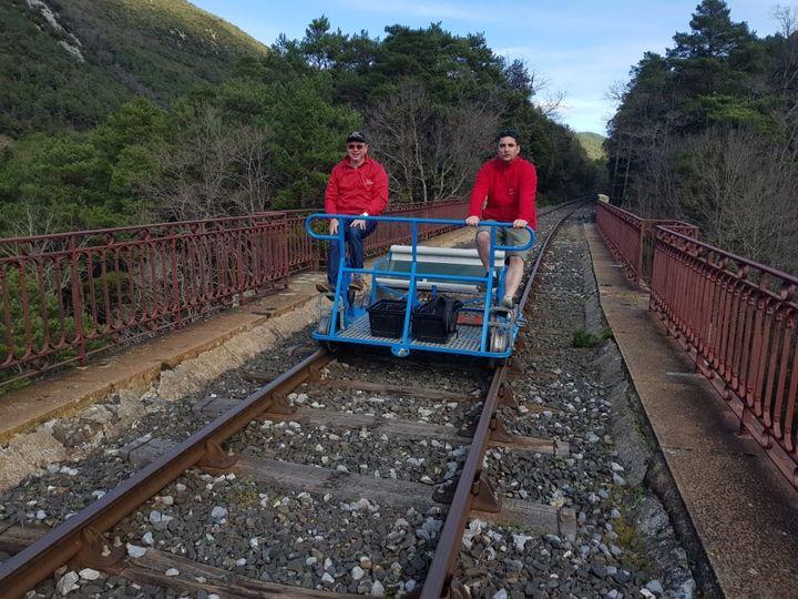 Train du Pays Cathare et du Fenouillèdes - TPCF